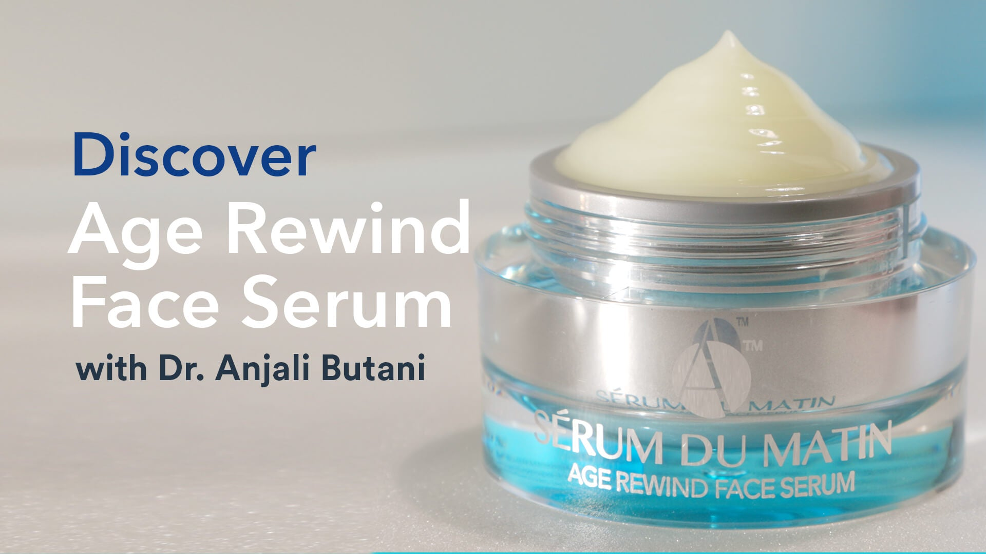 Age Rewind Face Serum Discover Video