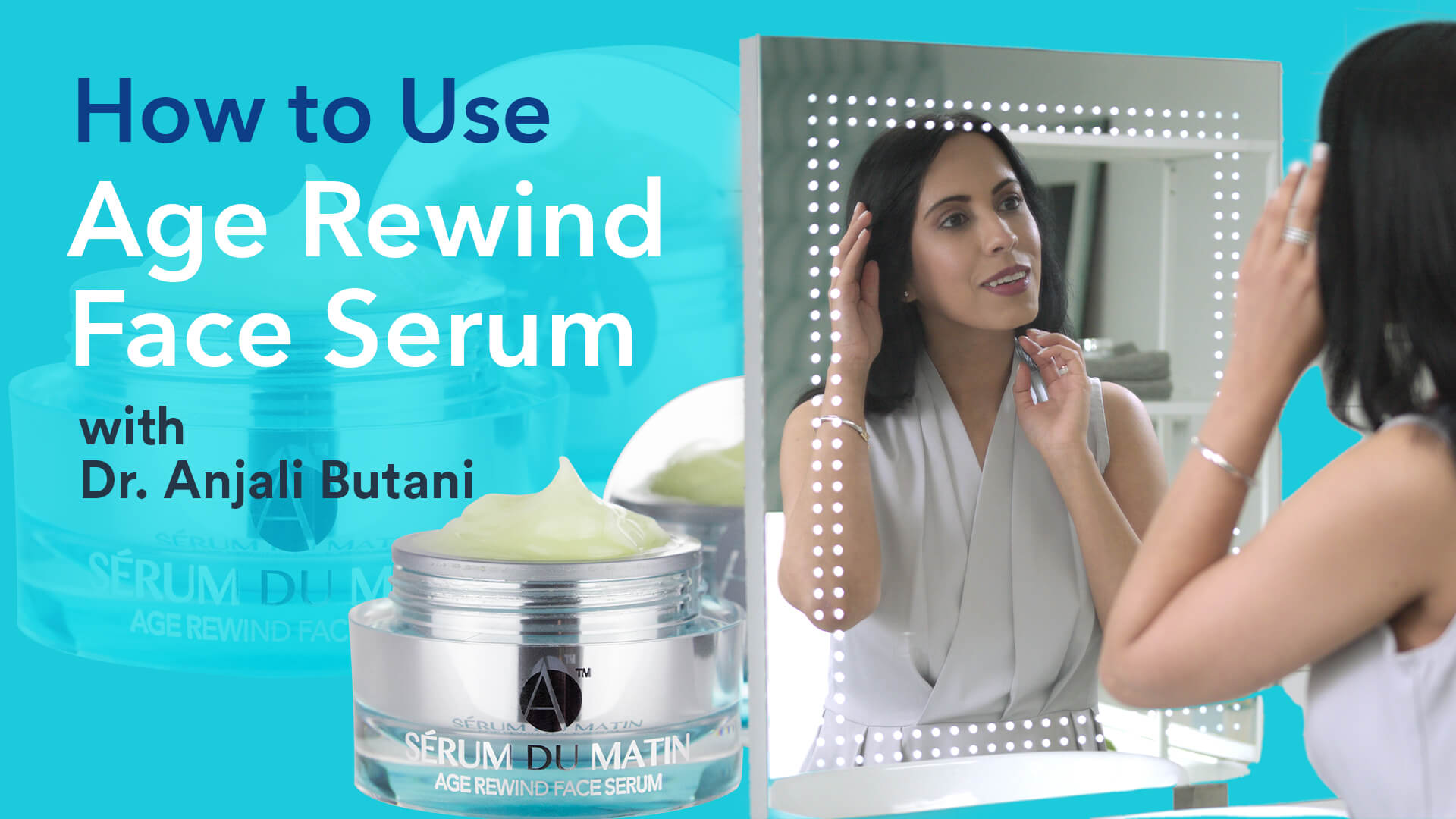 Age Rewind Face Serum How To Use Video