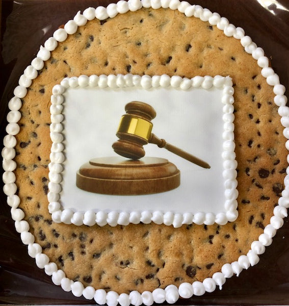 "14"" Round Giant Cookie with Printed Message / Art"