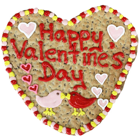 GIANT COOKIE - VALENTINE'S HEART