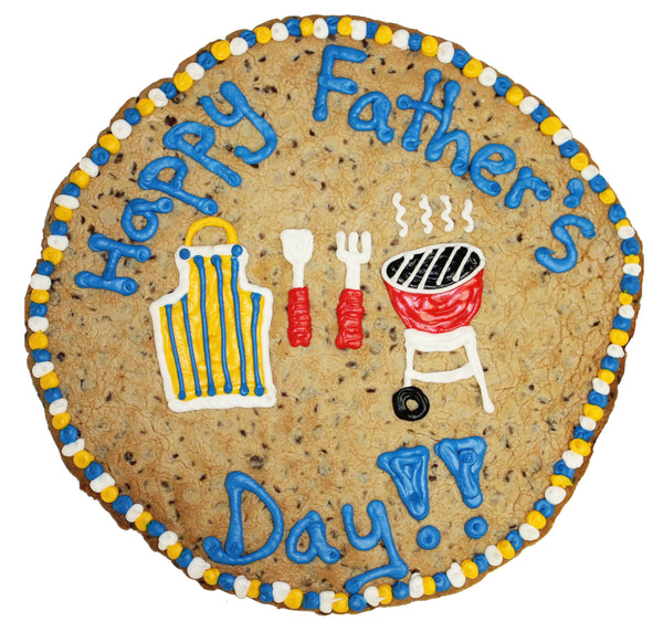 Happy Fathers Day Giant Cookie Cake by cookiegrams.com