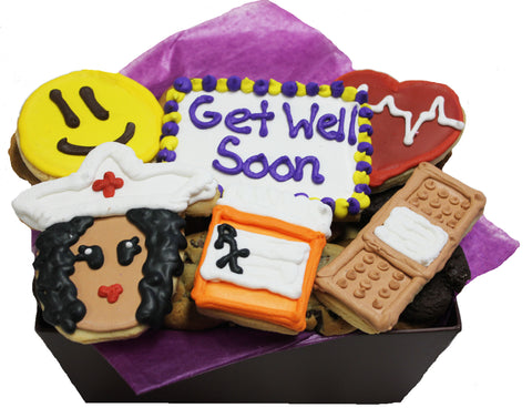Get Well Soon Cookie Basket