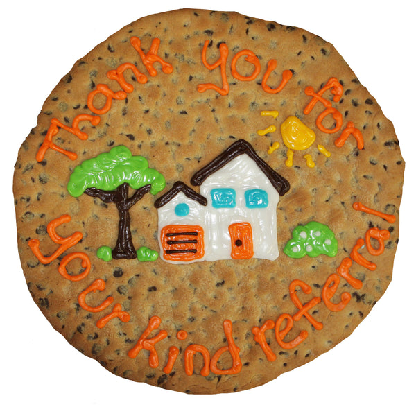 Thank You Giant Cookie Cake by cookiegrams.com