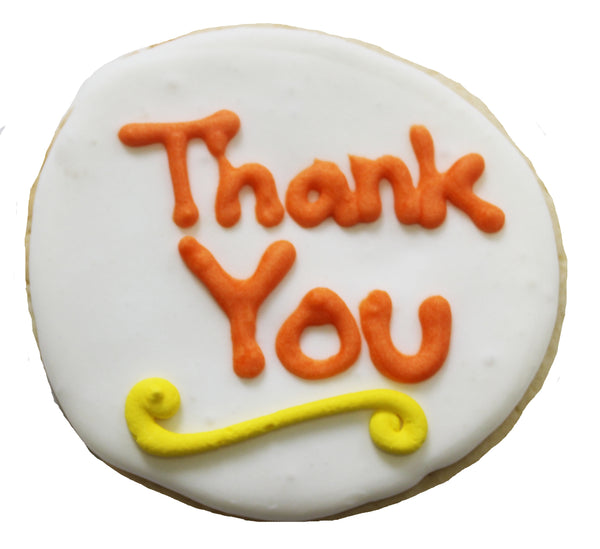 A Signature Cookie (with your personal message)