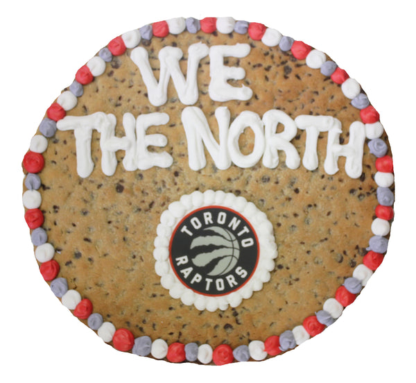 "16"" Round Giant Cookie with Custom Art / Logo by cookiegrams.com"