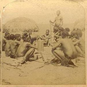 Group of African Tribesmen