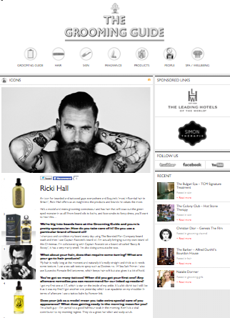 The Grooming Guide with Ricki Hall