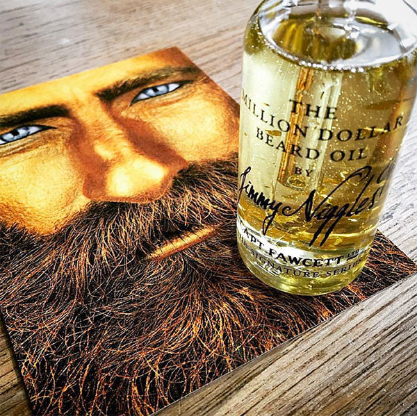 Million Dollar Beard Oil by Jimmy Niggles & Captain Fawcett