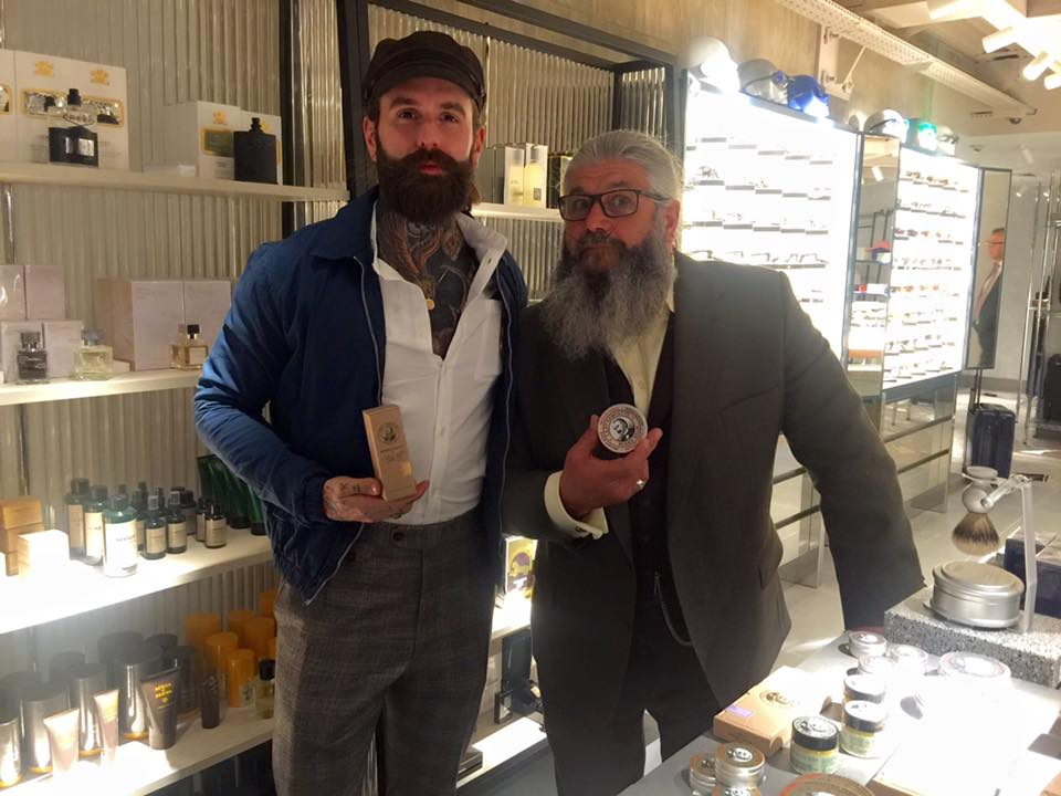 Ricki Hall & Captain Fawcett