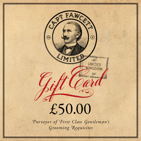 Captain Fawcett's Gift Card