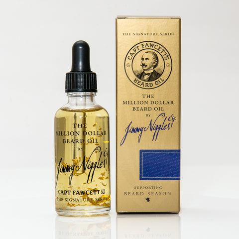 Jimmy Niggles Esq. The Million Dollar Beard Oil