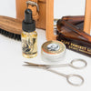 Captain Fawcett's Leather Travel Grooming Kit