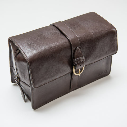 Captain Fawcett's Leather Washbag (CF.65)
