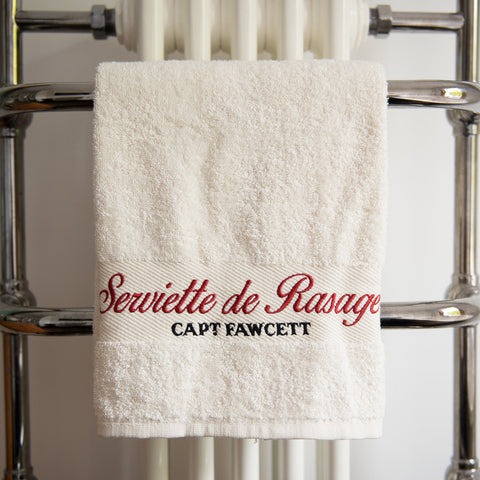 Luxurious Shave Towel