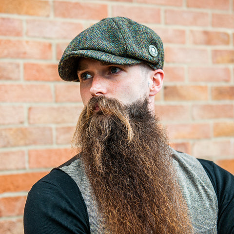 Harris Tweed Baker Boy Cap