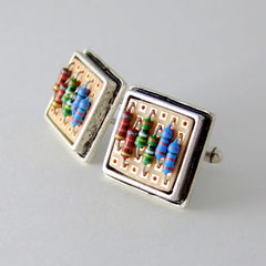 Prototyping Circuit Board and Resistor Cufflinks — Electronics Accessories