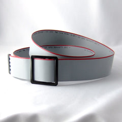 Ribbon Cable Belt — Gray