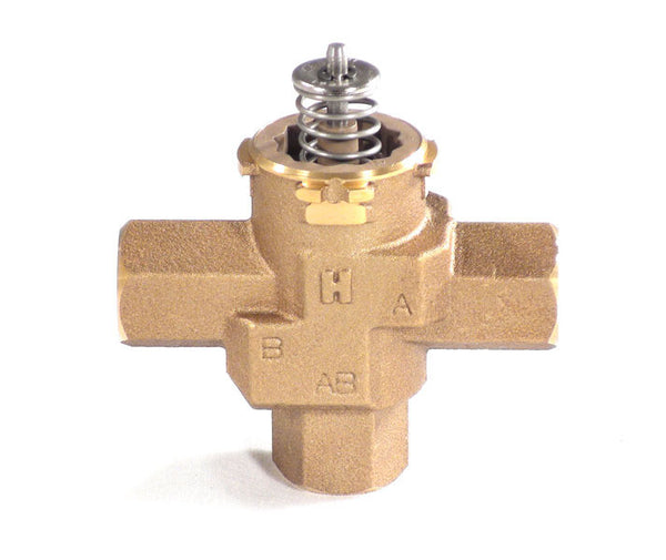 Three-Way Valve for Preheat