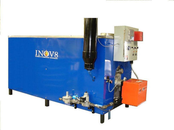 INOV8 EV60 shown with Gas-Oil Burner