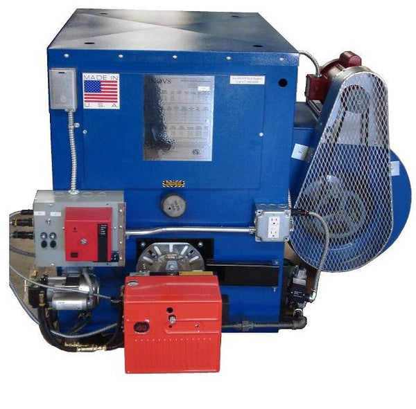 F240 Waste Oil Furnace with blower fan and gas-oil burner