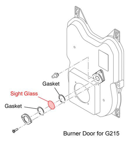 Buderus Boiler Sight Glass