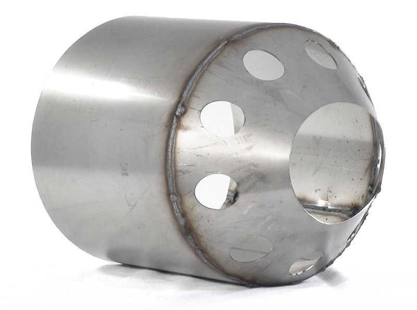 Combustion cylinder, stainless steel - used in Buderus boiler G215