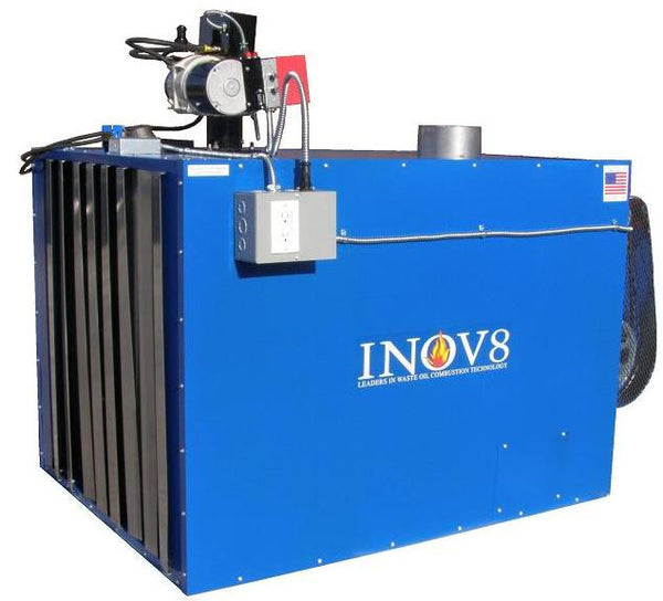 INOV8 Model F450 Waste Oil Furnace