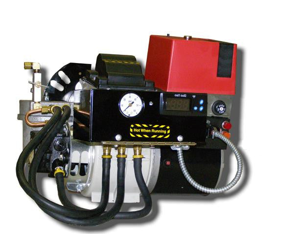 INOV8 Model S200 Waste Oil Burner used on F450 furnace