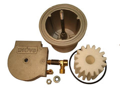 Vapor Eliminator Assembly - showing the parts for the INOV8 waste oil burner