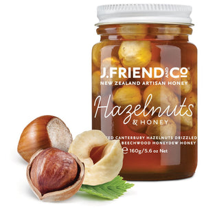 New Zealand Hazelnut honey