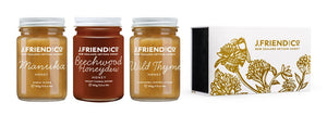 Dark and rich New Zealand honey collection, gift pack