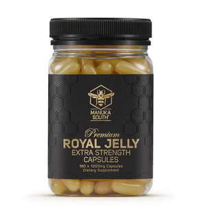 Premium New Zealand Extra strength royal jelly, tax free, free shipping