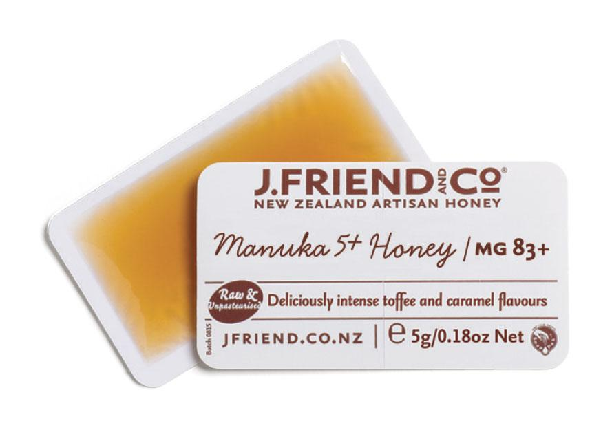 New Zealand UMF Manuka 5+ snap pack