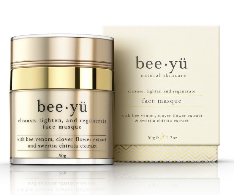 Premium natural cleanser, tightening and regenerative face mask,