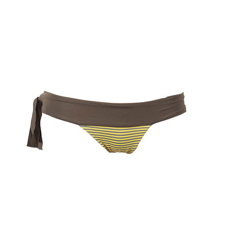 Sorrento - Yellow Stripe + Olive Reversible Bottoms