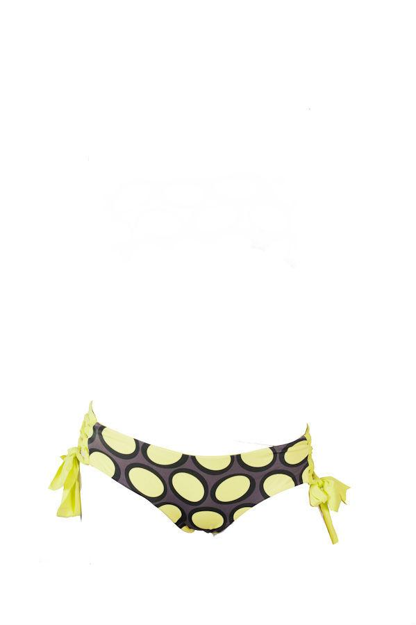 Amalfi Tie Side Bottom: Yellow Bubble