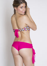 Ischia One Piece: Polka Dot & Pink