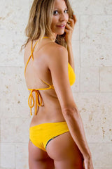 Filicudi Keyhole Top: Sicilian Yellow