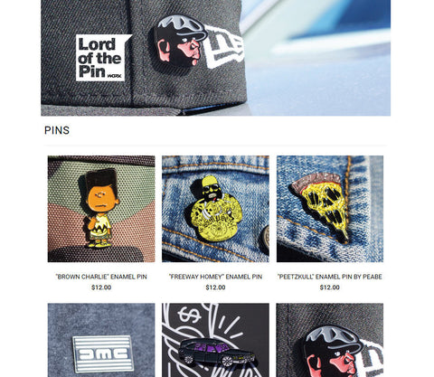 Lord of the Pin new website