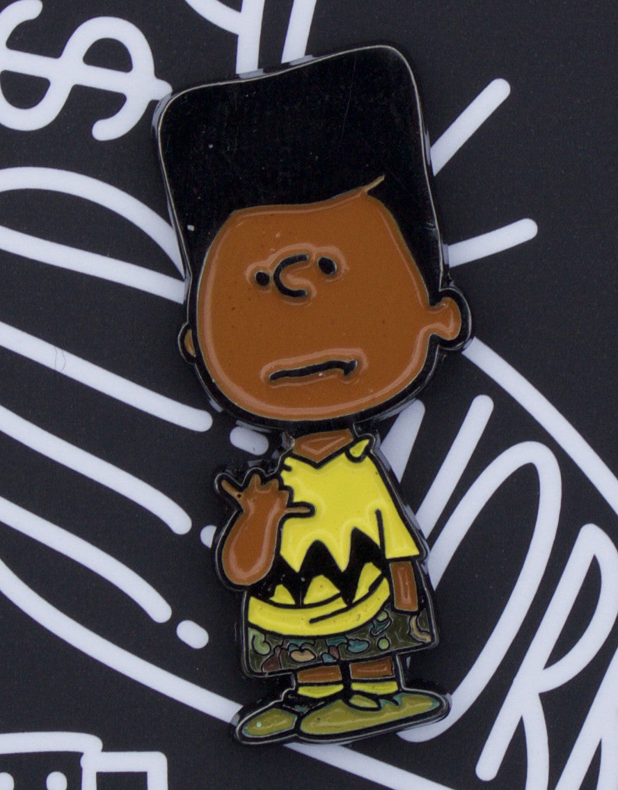 """Brown Charlie"" Enamel Pin"