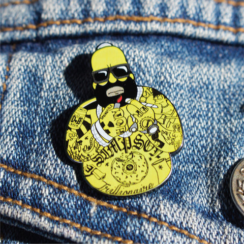 Rebellion Pin