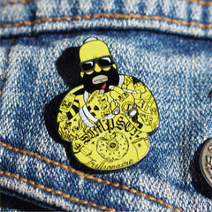 """Freeway Homey"" Enamel Pin"