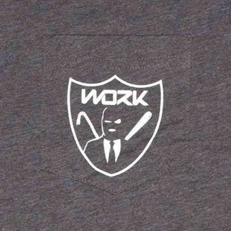 WORK Crest Pocket T