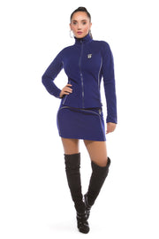 Luna Alkali Jetsetter Mini Skirt - Fleece