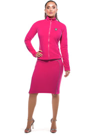 Luna Alkali Jetsetter Pencil Skirt - Fleece