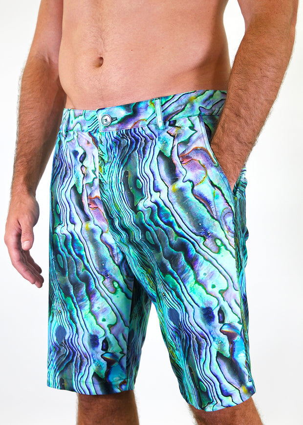 mens knit swim short