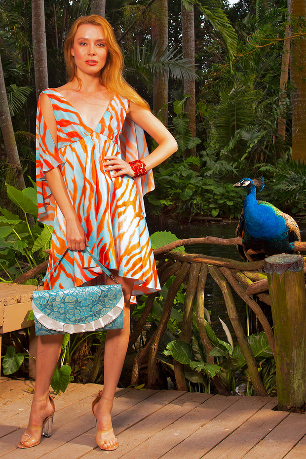 high-low angelfish dress