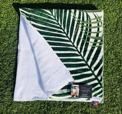 Palmfrawn golf towel