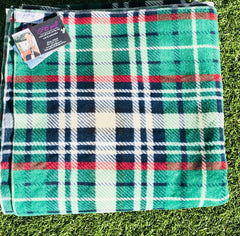 Golf blanket green paid