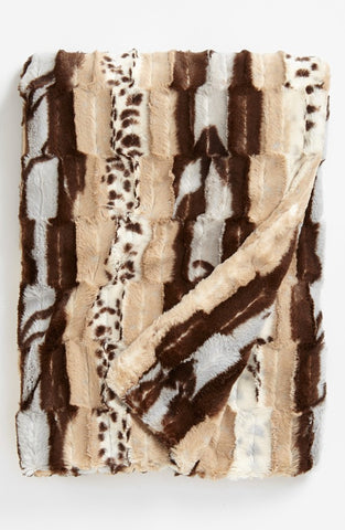 Animal Tan Throw (made to order)